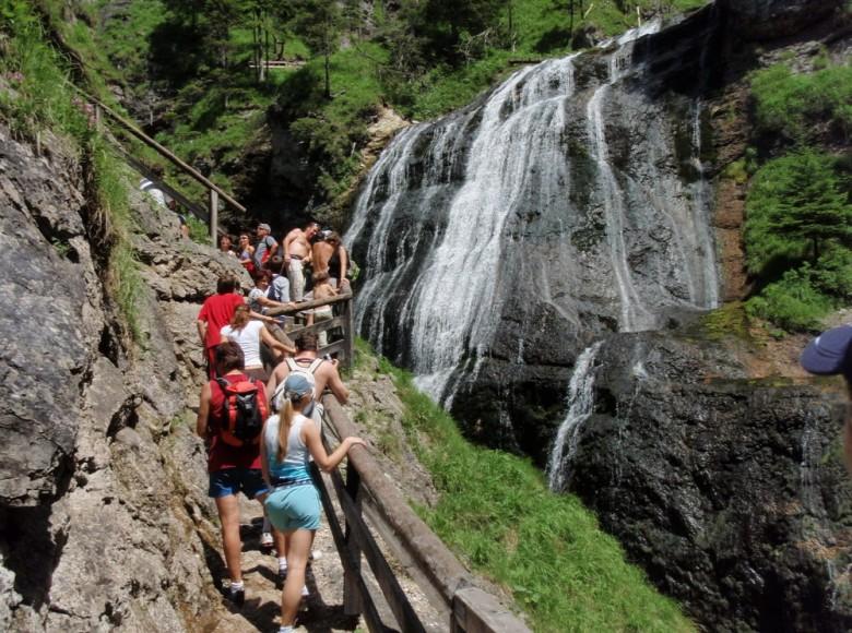 Wasserloch kanyon, Praebichl