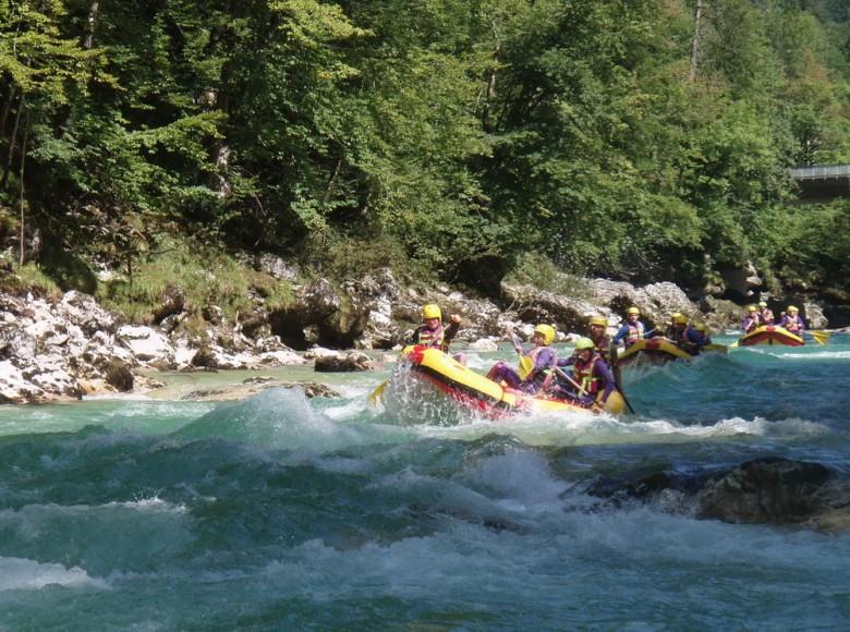 Rafting, Praebichl