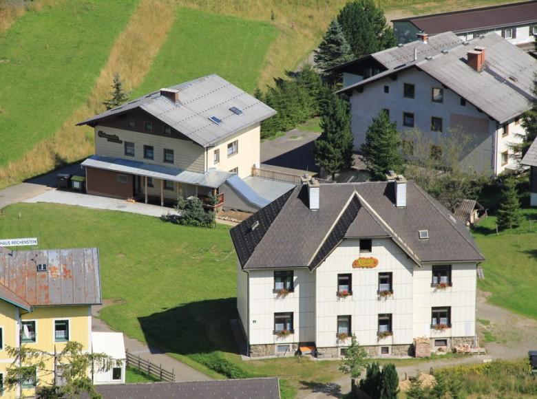 Encián apartmanház, Praebichl